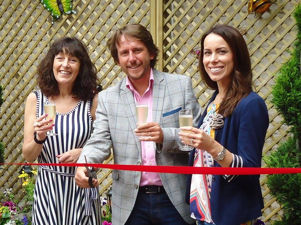opening of the secret garden at hales bar